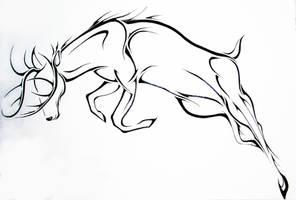 Deer by Elliesmeria