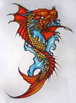 Koi Dragonfish