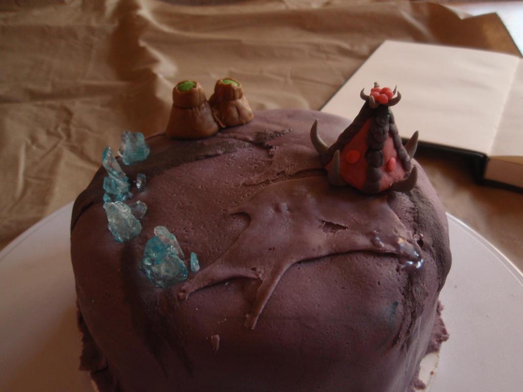 Zerg Cake -WIP by Elliesmeria
