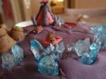 Zerg Cake - Drones by Elliesmeria
