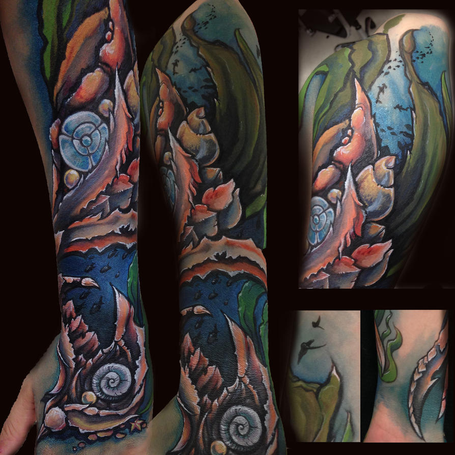 Ocean Armor by Elliesmeria
