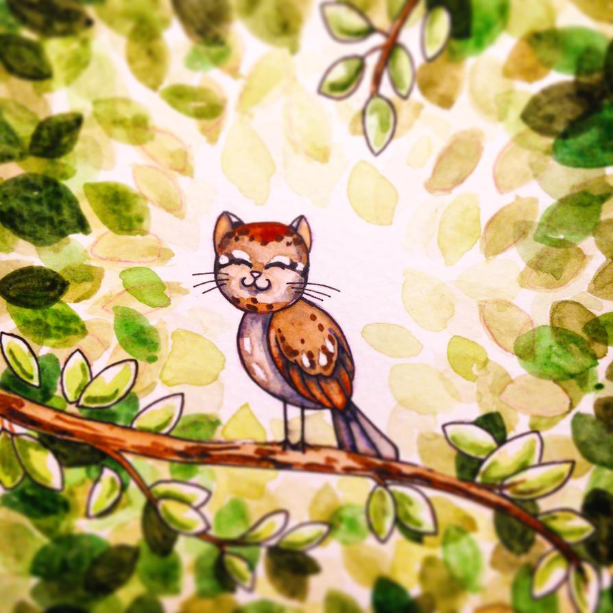 CatBird by Elliesmeria