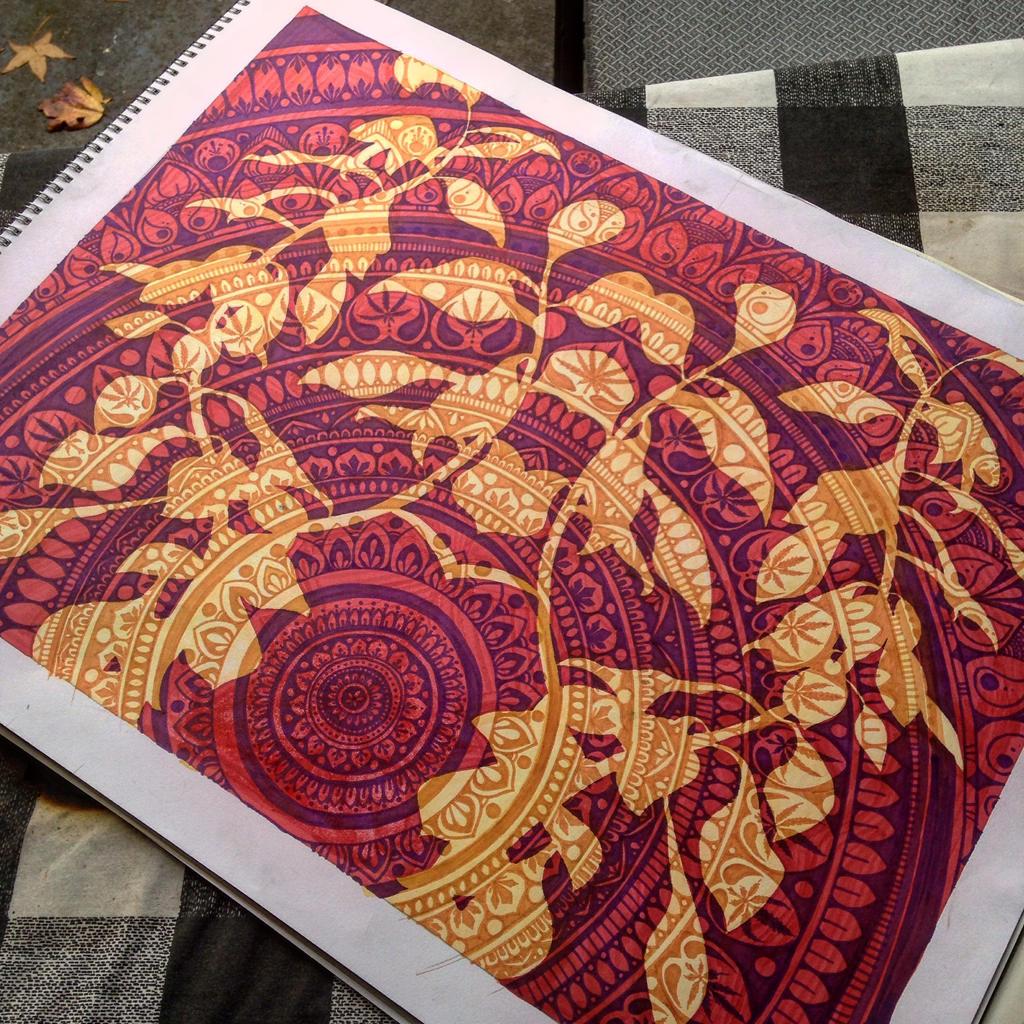 Mandala Plant by Elliesmeria