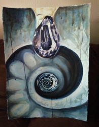 Spiral Drop by Elliesmeria