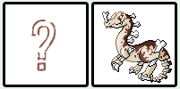 bonedino Pokemon Sprites Fakes by shadixART