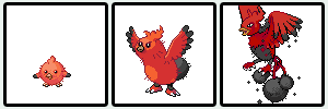 firebirds Pokemon Sprites Fake by shadixART