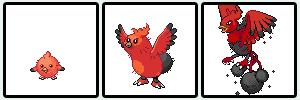 firebirds Pokemon Sprites Fake by shadixART