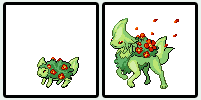 Pokemon Sprite Fake Ninge by shadixART