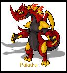 Pokemon Sprite Fake Paladra by shadixART