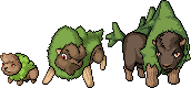 Pokemon SPrite Fake Bison by shadixART