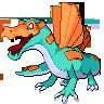 Fakemon Spinosaurus by shadixART