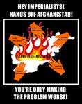 Hands off Afghanistan