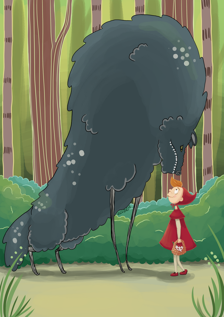 The Big Bad Wolf by ellbeh
