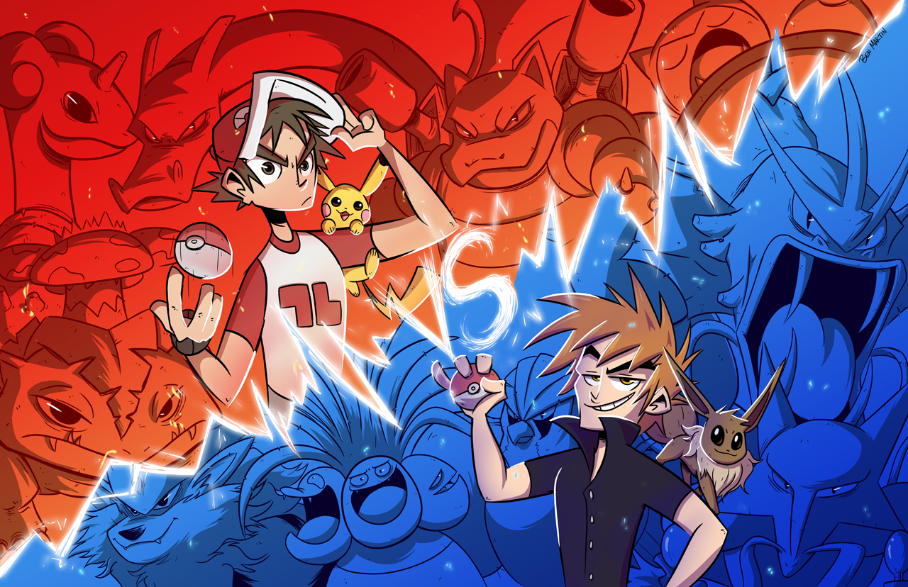 Red vs Blue by totalnonsense89