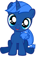 Filly Blueberry by InvaderPsi