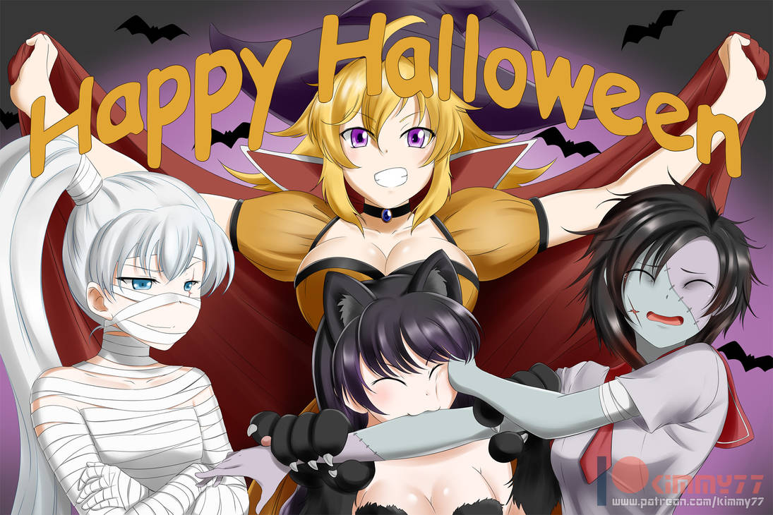 RWBY: Happy Halloween by kimmy77