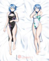 Kingdom Hearts: Aqua Dakimakura by kimmy77