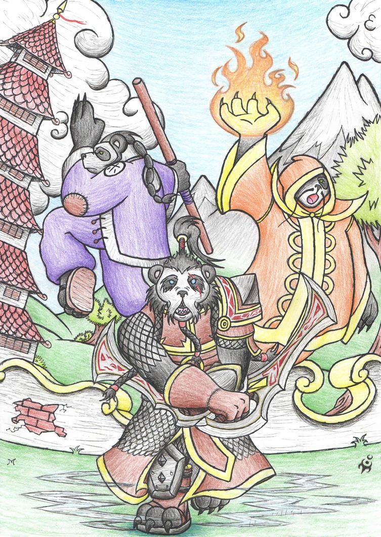 My Pandamonium by triumviratusok