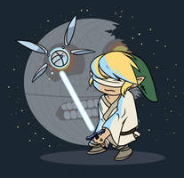 Use the Triforce, Link by Tigryph