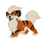 Gift Pokemon - Growlithe for Dusty