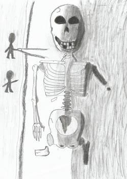 Earlier sketch: Emperor of an Antediluvian race