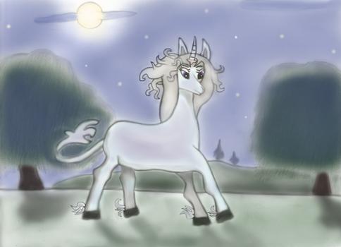 The Last Unicorn 2: Nightscape colors