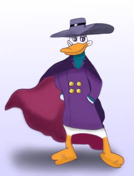 Darkwing Duck gets dangerous, colorized