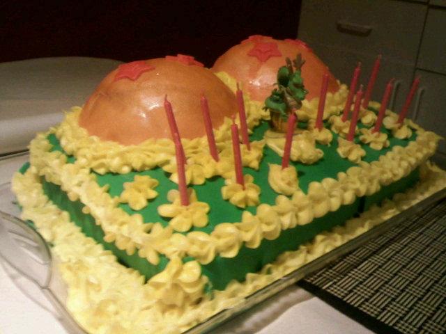Dragon Ball Z Birthday Cake By Stazik