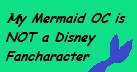 Non-disney mermaid OC stamp by Roses-and-Feathers
