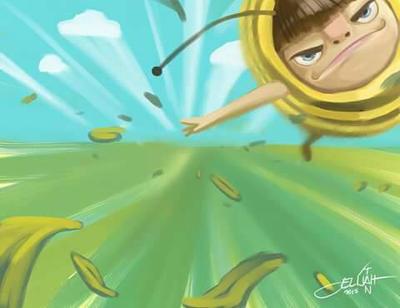 Fastest bee by elijahtan