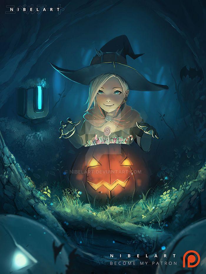 Little Mercy Halloween by NibelArt