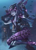 Widowmaker Spider by NibelArt
