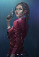 Claire Redfield by NibelArt
