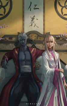 Kagetora and Isuzu