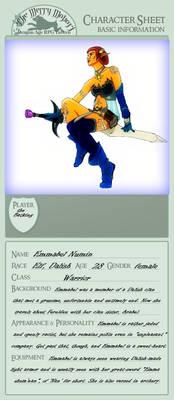Emmabel Character Sheet