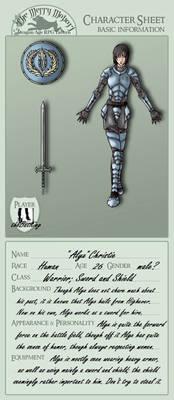Alyx Character Sheet