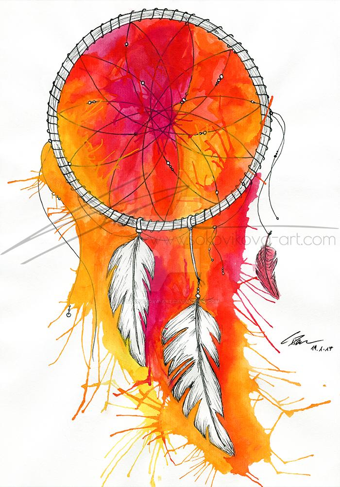 The dreamcatcher by Sokovikova-Art