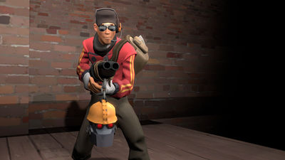 My TF2 Scout Loadout by TheDragonBoi on DeviantArt
