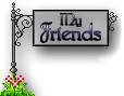 Journal Divider Sign-Friends