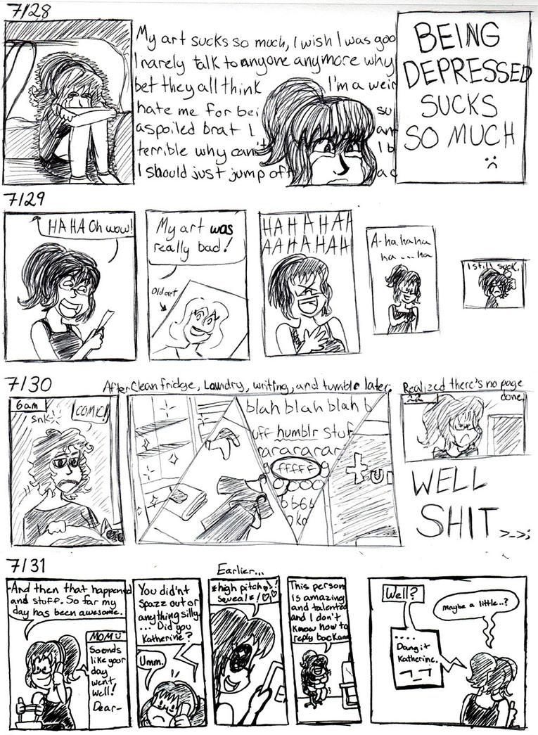 HaM: Depression and spazz by KitKatMuffin