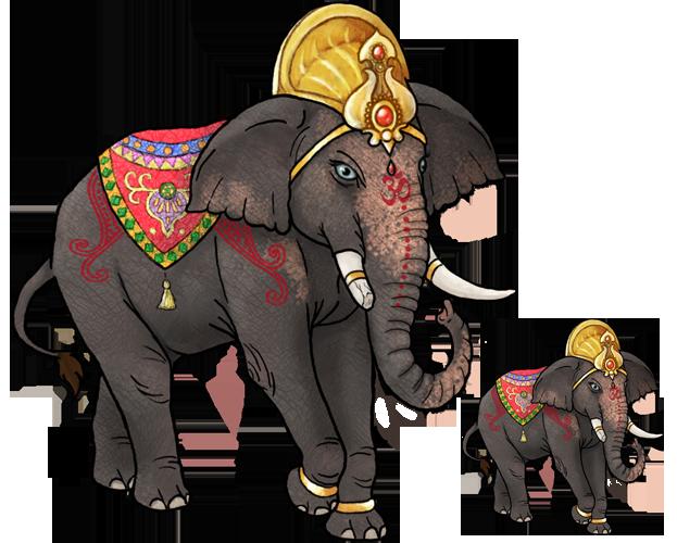 Indian Elephant - Subeta Commission by Necolasa on DeviantArt