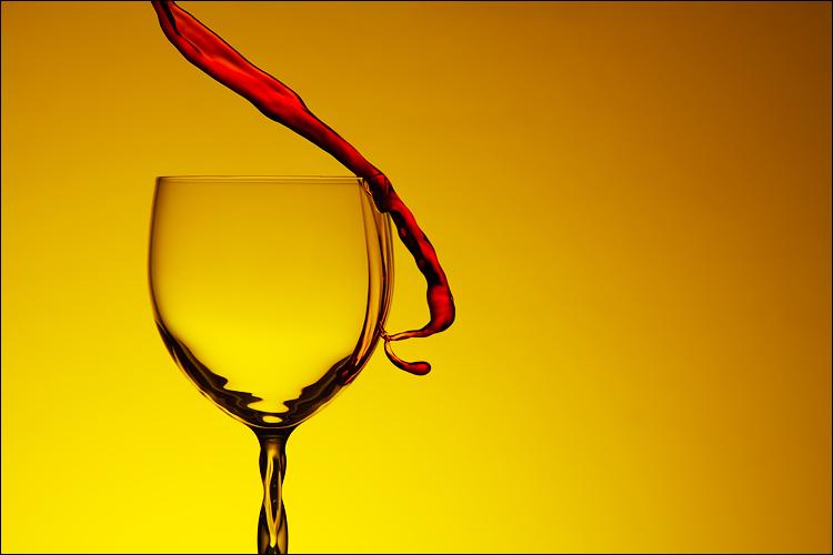 draw of wine II by KrunoDebenc