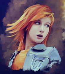 Hayley Williams by WindFleuret
