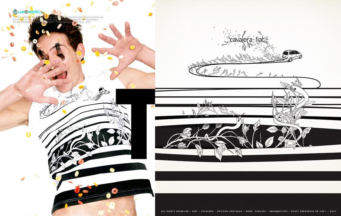 FIAT - Cavalera - Fashion AD by dchan