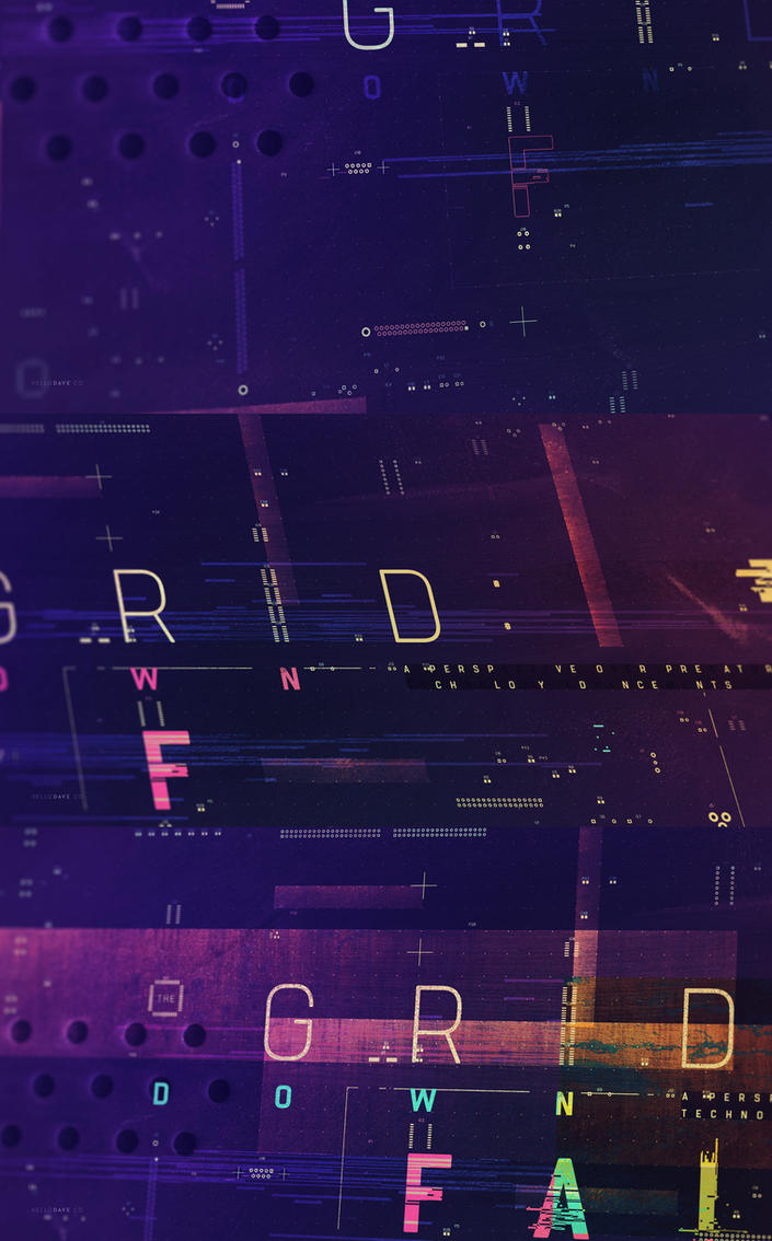 The Grid TV Opening Titles by dchan