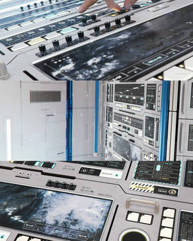 Space Station FUI and Hardware PT1