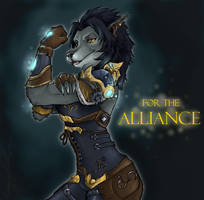 FOR THE ALLIANCE by IceCatDemon