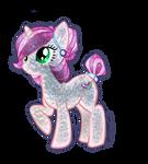 Freckle Sketch CRYSTAL Crystal Pony