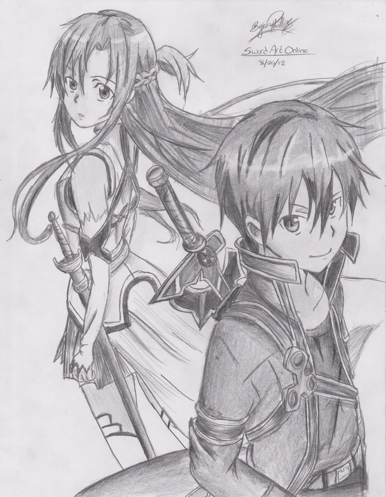 Sword Art Online By Crazyname15 On Deviantart