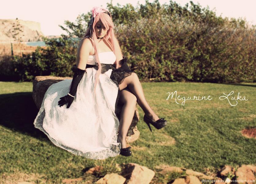 Megurine Luka - Camellia IV by DarkIceLady